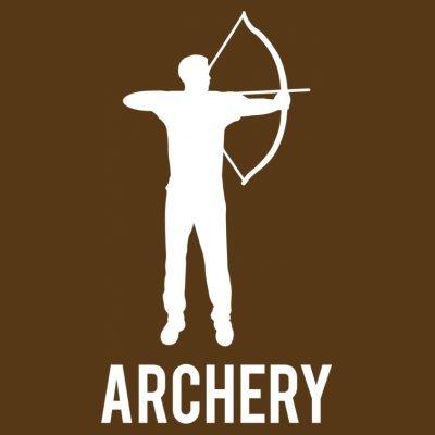 Sudadera con capucha de mujer Archery by Shirtcity Marrón