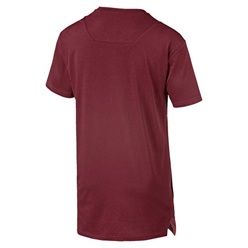 Puma T rossa T uomo Energy shirt da bordeaux Graphic Triblend p880w