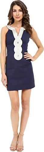 Lilly Pulitzer Women's Valli Shift Dress True Navy Dress