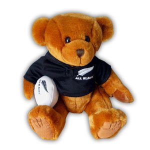 ALL BLACKS rugby teddy bear medium