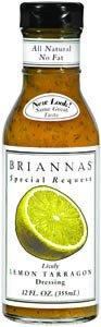 BRIANNAS Salad Dressing, Fat Free Lemon Tarragon, 12 Ounce (Pack of -