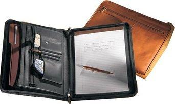 Millennium Leather AP5130VN Vaqueta Padfolio