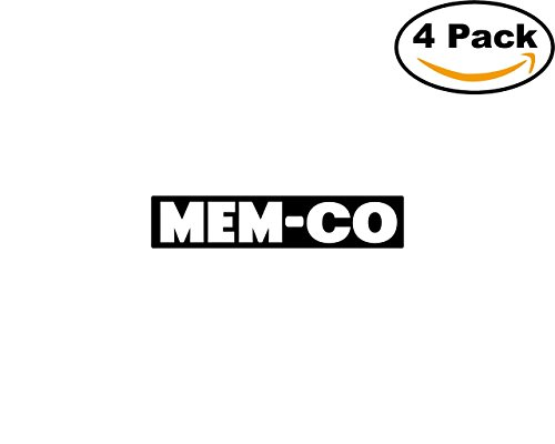 MEM Co 4 Stickers 4X4 inches Car Bumper Window Sticker Decal ()