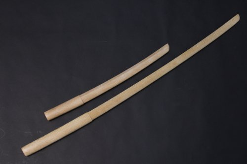 White Oak Bokken Set (Long and Short)