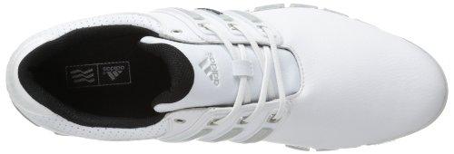 Adidas hombre 's Tour 360 ATV M1 Golf zapatos white / metalico importarlo todo