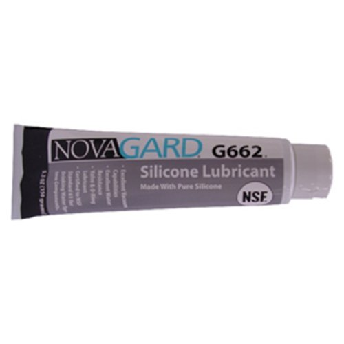 Novagard G662 General Purpose Silicone Grease-Like Compound, NSF 61  Certified, 5 3 oz Tube