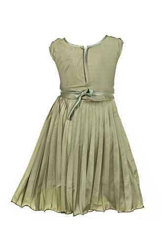 ZOOBA Girl's Knee Length Dress