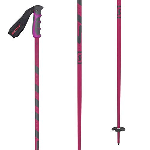 (Scott Team Issue Ski Poles Pink 46in)