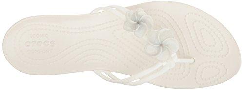 Crocs Flip Women's Flop Embellished Crocsisabella Oyster rz6frYw