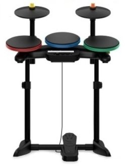Guitar Hero Warriors of Rock Wireless Drums for (Wireless Guitar Drums)