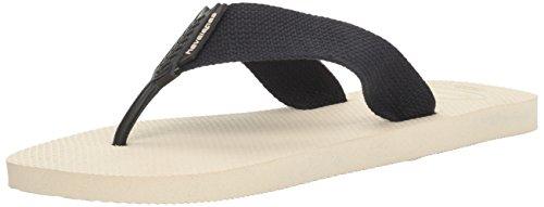 Havaianas Men's Flip-Flop Sandals, Urban Basic,Beige/Black,39/40 BR (8 M US) ()