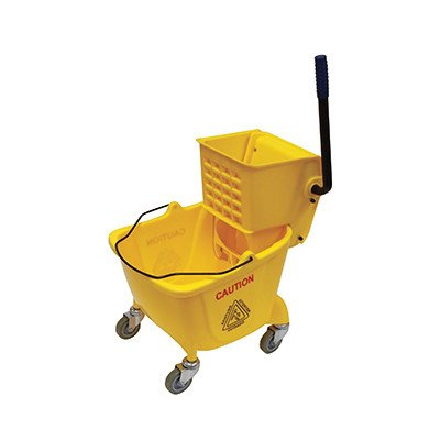 O'Cedar Commercial 96975 MaxiRough Mop Bucket and Wringer, Yellow by O-Cedar Commercial
