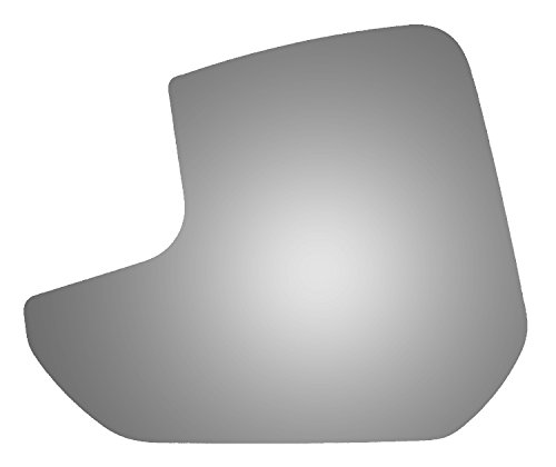 Burco 4399 Lower Flat Driver Side Replacement Mirror Glass for 11-13 Ford Transit Connect 2011, 2012, 2013