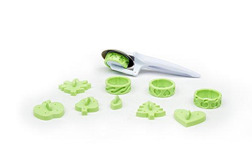 (Fox Run 4391 Pie Decorating Kit, 11-Piece)