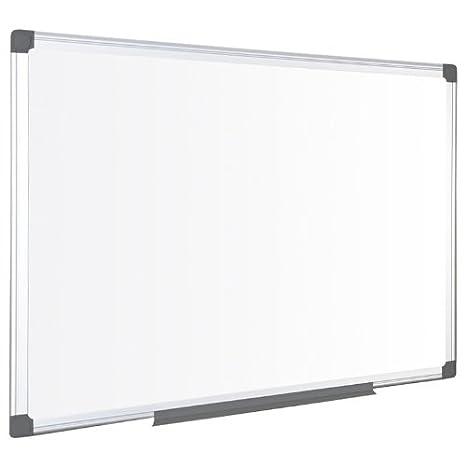OD, lavagna bianca magnetica con cornice in alluminio, varie misure 600 x 900 mm