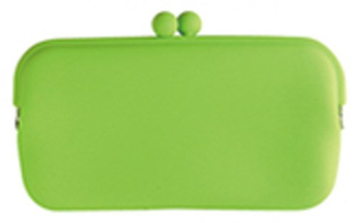 HACHI Silicone Wallet /Accessory Case- Green