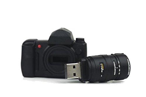 Fotocamera, chiavetta USB 16 GB - Memory stick archiviazione dati, Pendrive, colore: nero OEM