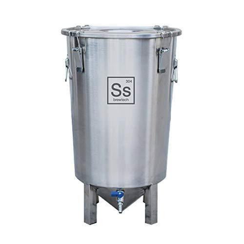 Ss Brewtech Home Brewing Brew Bucket Fermenter; Stainless Steel (7 Gallon)