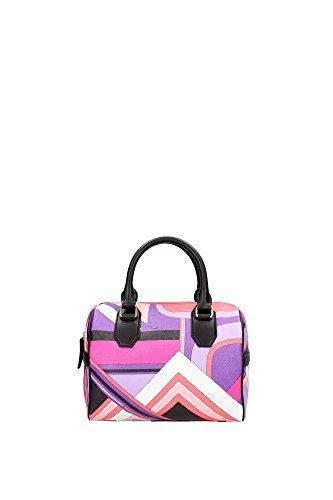 46BC7046249054 Emilio Pucci Bowling Bags Women Leather Multicolor