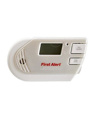 First Alert Combination Explosive Gas and Carbon Monoxide Alarm with Backlit Digital Display,  GCO1CN
