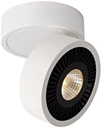 Lucide MITRAX - Deckenstrahler - Ø 12 cm - LED Dim. - 1x10W 3000K - Weiß