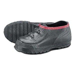 Ranger By Honeywell Overshoes, Men, 12, 2-Buckle, Blk, Rubber, PR ()
