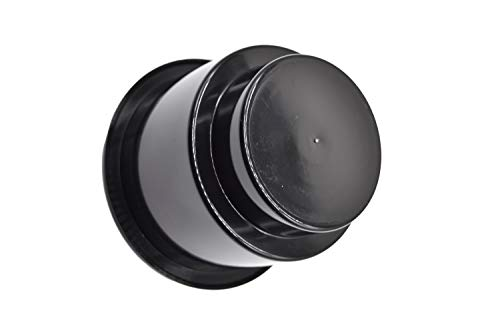 Marine City Black Plastic Cup Drink Holder Without Drain Hole