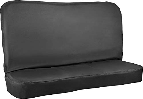 (Bell Automotive 22-1-55302-A All-Terrain Standard Bench Seat Cover, Black)
