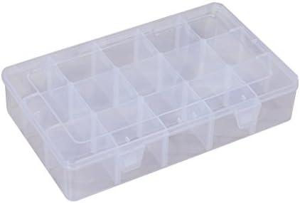 VORCOOL 15 Rejillas Plásticas de Joyería Caja Transparente de Joya ...