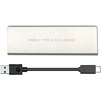 da759008697 NVMe PCIe M.2 SSD to USB 3.1 Type C Gen2 Enclosure - ElecGear 10Gbps ...