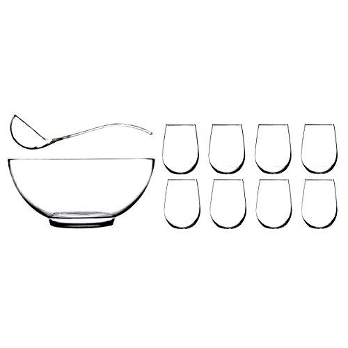 Anchor Hocking Presence Piece Glasses