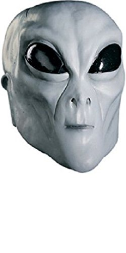 Rubie's Men's Grey Alien Latex Mask Adult Costume, -as Shown, One Size for $<!--$16.90-->