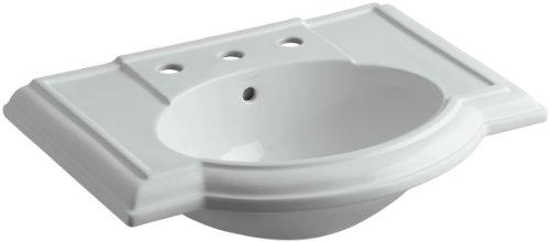 KOHLER K-2295-8-95 Devonshire Bathroom Sink Basin with 8