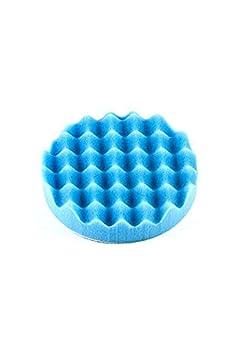 Waffle Foam Pad Optimum Blue 22592 3.25 Softest Finishing