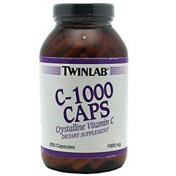 Twinlab C-1000 Capsules, 1000mg 250 capsules