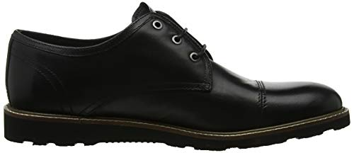 Penguins Herren Leather Black 801 Derbys Schwarz Original Croydon FTnUxwT1