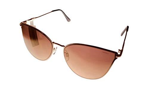 42ef433765 Esprit Womens Gold Metal Black Cateye Sunglass ET39065. 584