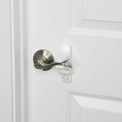 Safety 1st Outsmart Lever Handle Lock 2 Pack, White, One Size