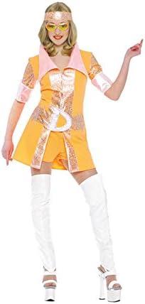 Disfraz de mujer disco de los 80: Amazon.es: Juguetes y juegos