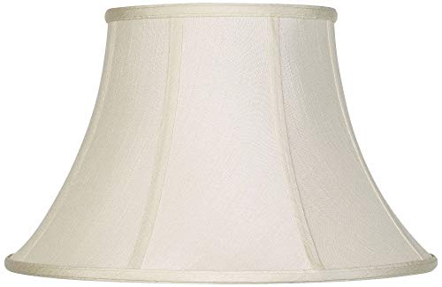 Imperial Collection Creme Bell Lamp Shade 9x17x11 (Spider) - Imperial Shade