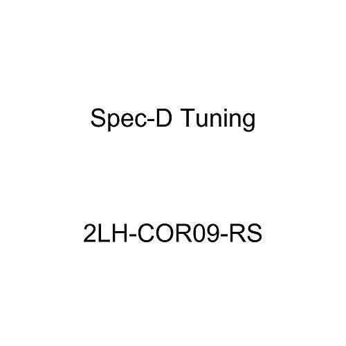 Spec-D Tuning 2LH-COR09-RS Chrome Headlight (Euro Housing) ()