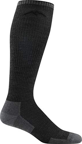(Darn Tough Westener OTC Light Cushion Sock - Men's Charcoal Medium)