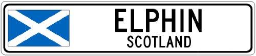elphin-scotland-flag-city-sign-6x24-quality-aluminum-sign