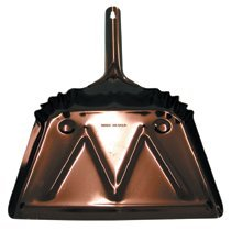 Magnolia Brush - Dust Pans 17'' Aluminum Dust Pan: 455-9 - 17'' aluminum dust pan