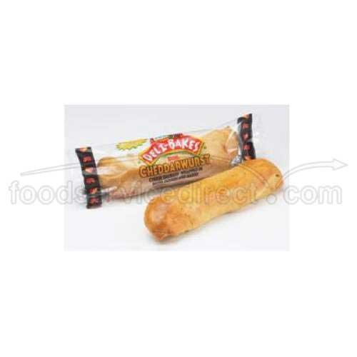 ibakes Cheddarwurst Bagel Cheddy Sandwich, 4.5 oz. 24 (Count) ()