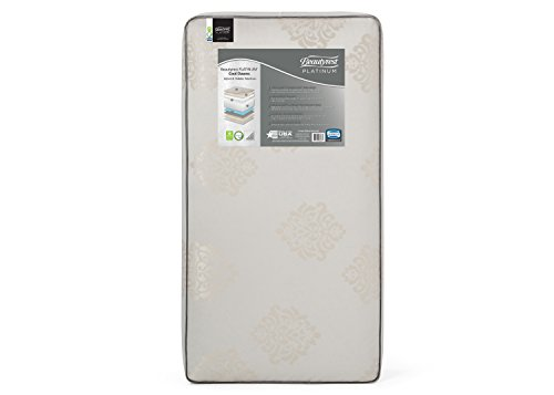 Beautyrest Platinum Cool Dawns Innerspring/Memory Foam Crib and Toddler Mattress | Waterproof | GREENGUARD Gold Certified (Natural/Non-Toxic) ()
