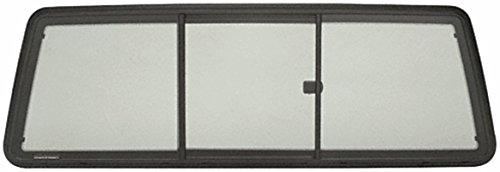 CRL Tri-Vent Three Panel Truck Slider with Solar Glass for 1986-1997 Ford Ranger Super Cab