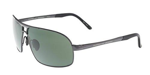 Porsche P8542-C Gunmetal Aviator - Men Porsche For Sunglasses