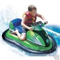 Amazon.com: Banzai Wave Rider Motorized Inflatable Boat ...