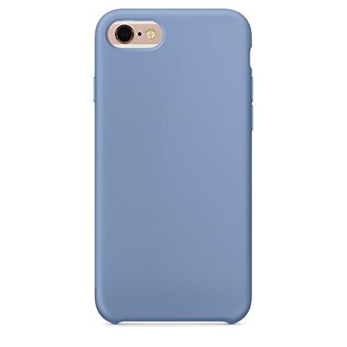 Phone Case & Hülle Für iPhone 6 & 6s Reines Farbflüssiges Silikon + PC-schützender rückseitige Abdeckungs-Fall ( Size : Ip6g0423l )